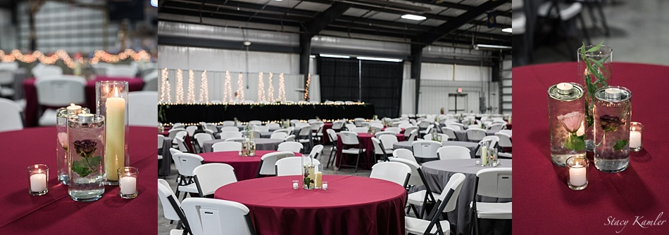 Reception at the Washington County Fairgrounds in Nebraska