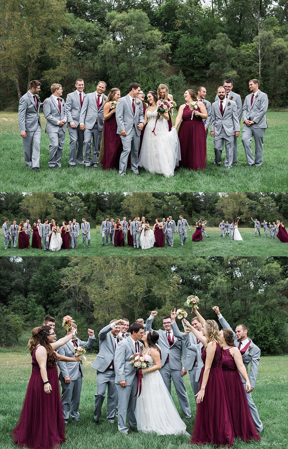 Bridal Party Photos in Fremont, NE