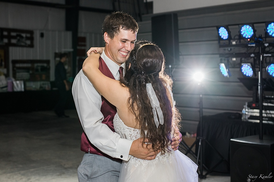 First Dance at the Washington County Fairgrounds