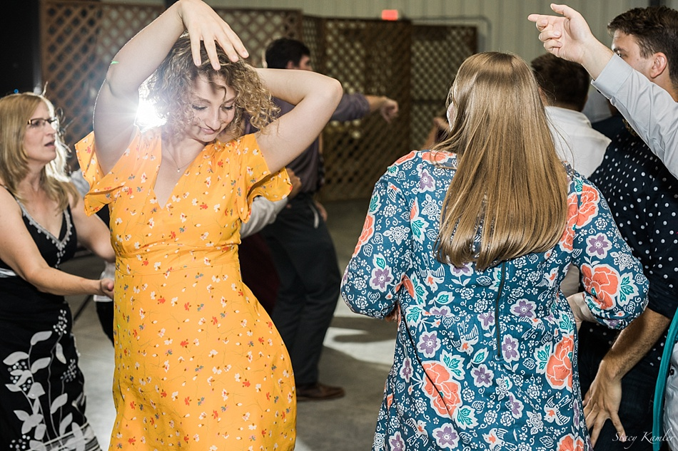 Dancing at the Washington County Fairgrounds