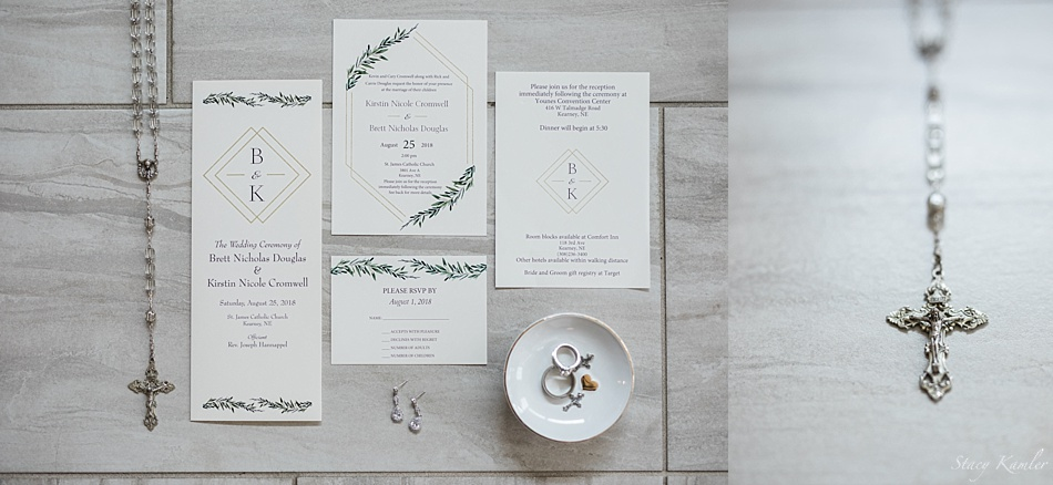 Wedding Paper Suite and Rosary
