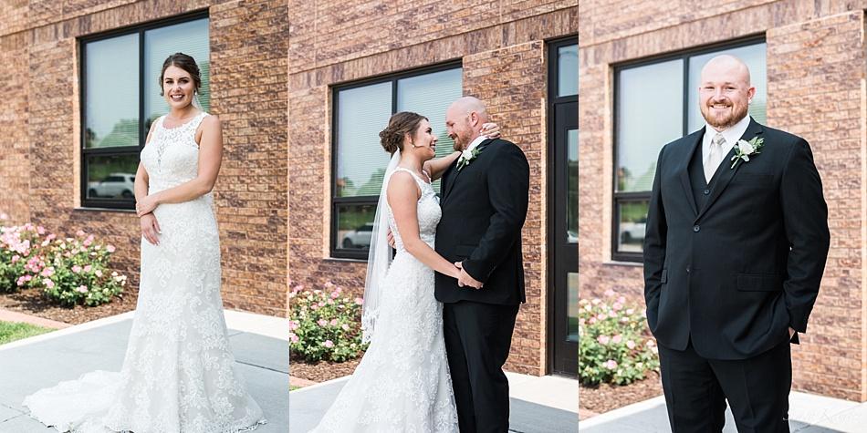 Bride and Groom Portraits, Kearney, NE