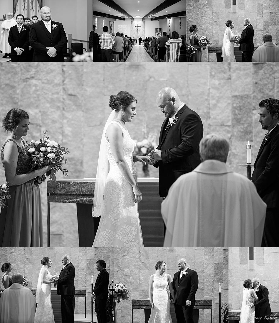 St. James Catholic Church Wedding Ceremony, Kearney, NE