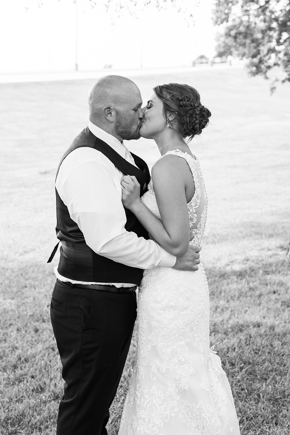 Bride and Groom in Kearney, NE