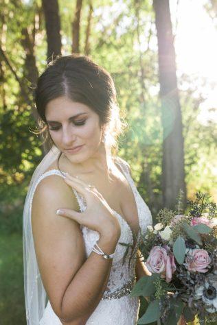 Bride in Golden Hour