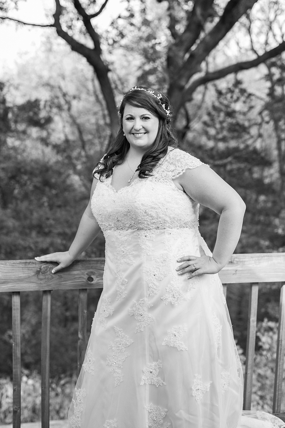Bride at Gunsmoke Lodge in Brained, NE