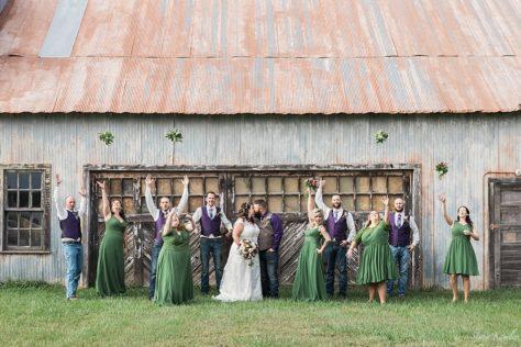 Bridal Party in Loma, NE