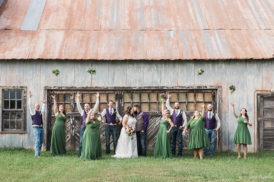 Bridal Party in Loma, NE