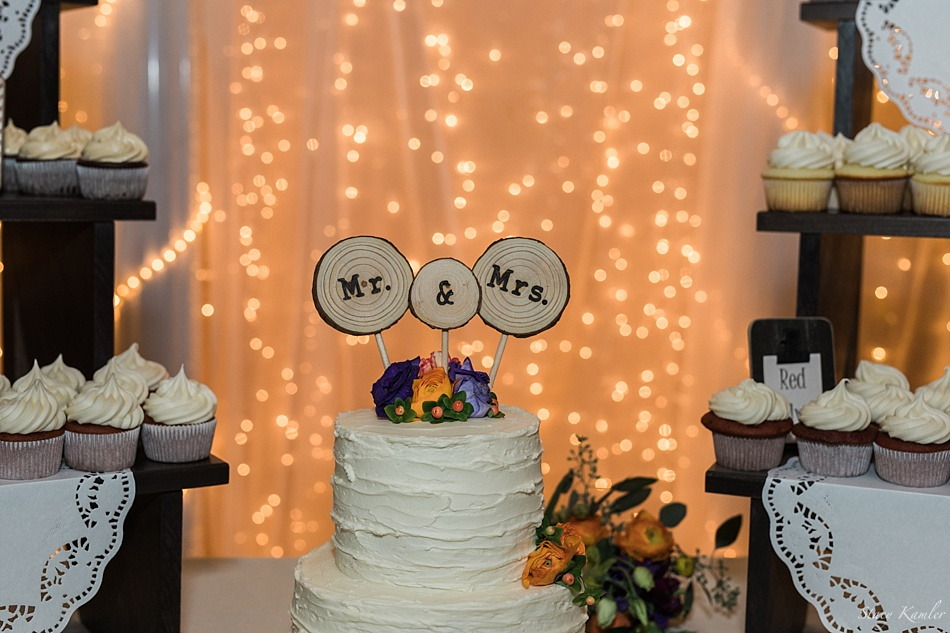 Wedding cake at Havelock Social hall