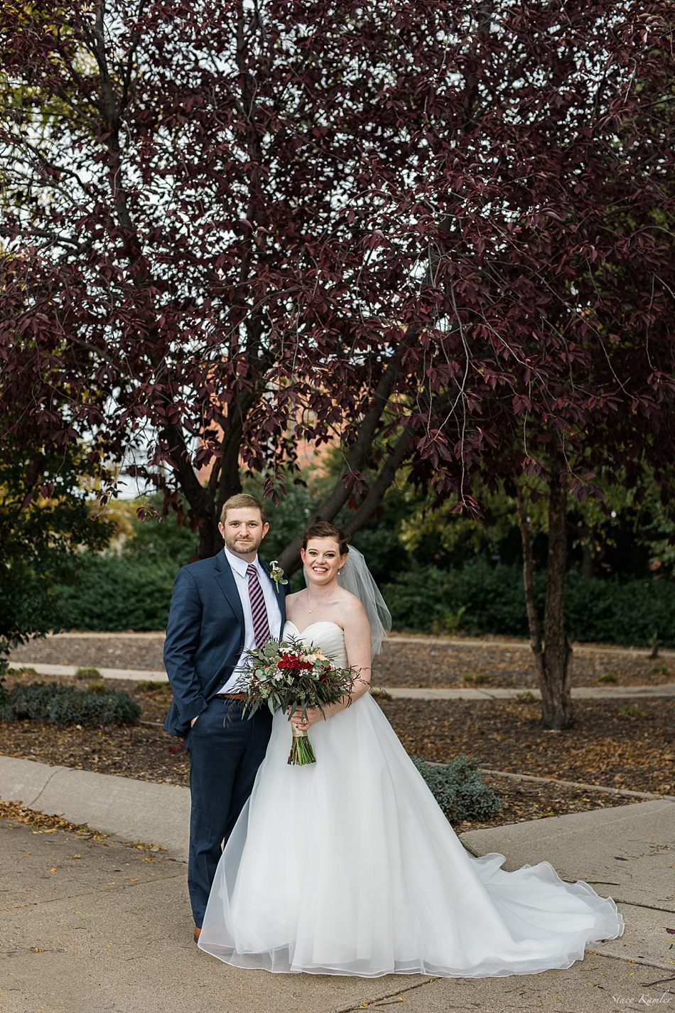 Bride and Groom Portraits after the ceremony