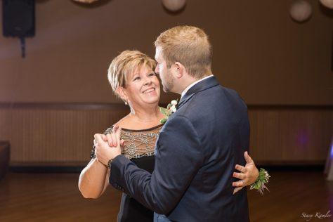 Mother son dance at Balz reception venue