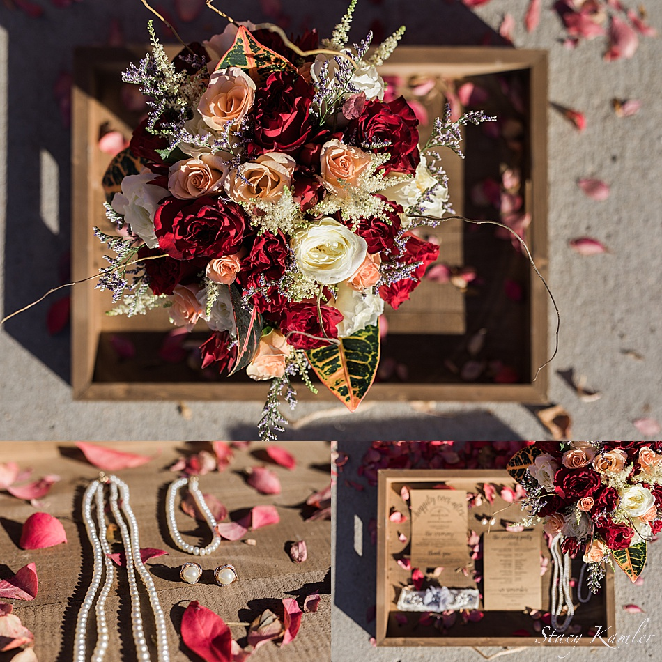 Fall bridal details for a nebraska wedding