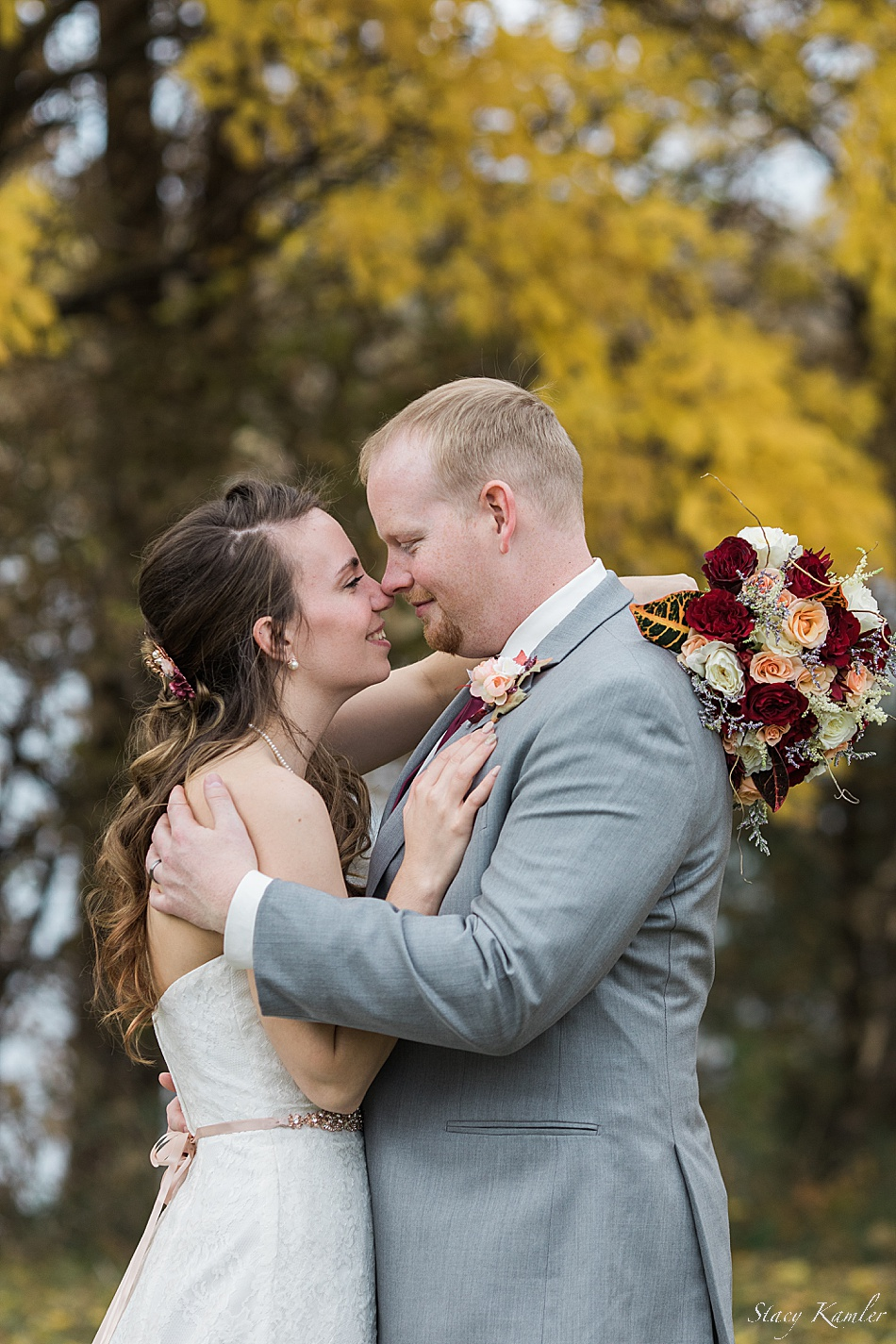 Nebraska Fall Wedding