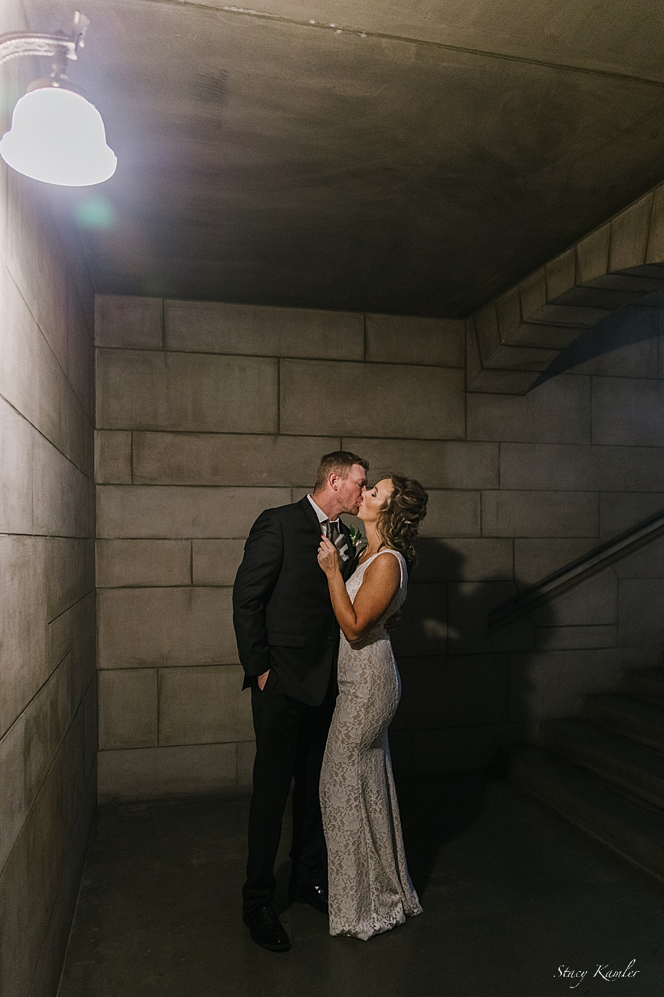 Bride and Groom photos at the State Capttol