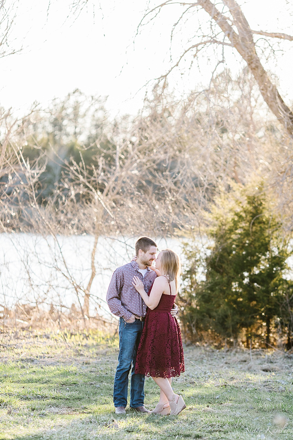 Engagement session in Spring