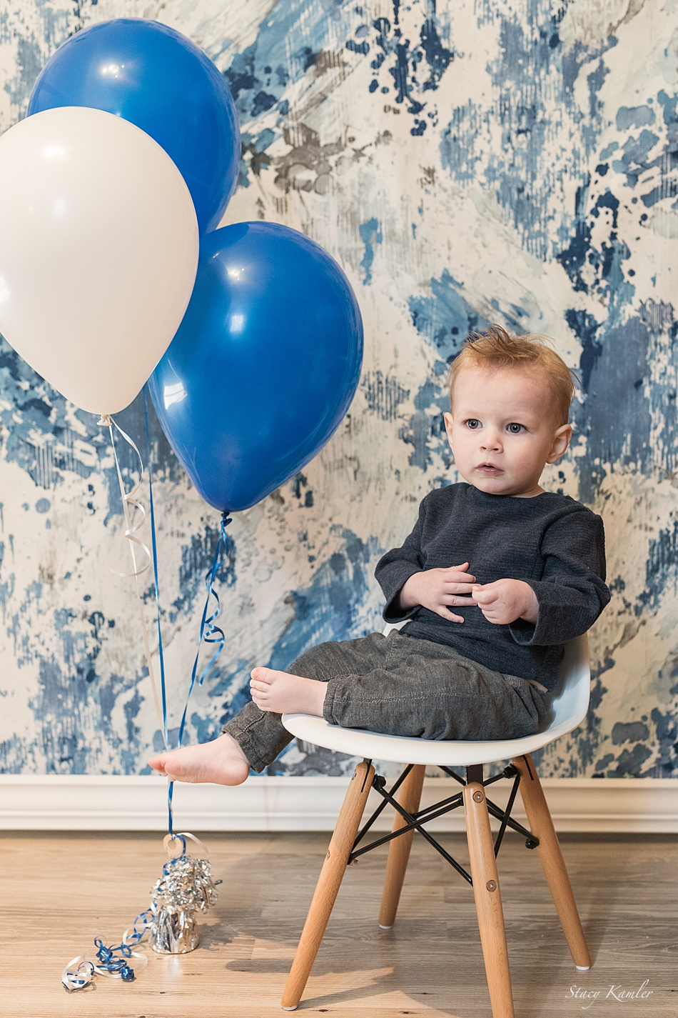 One year old studio session, Lincoln NE
