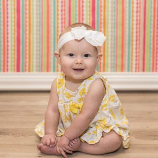 6 Month summertime photos