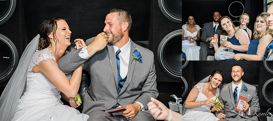 Bride and Groom with Sour Patch Kids