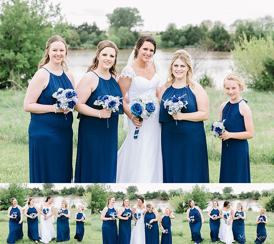 Bridesmaids at ReCharge Lake, York NE