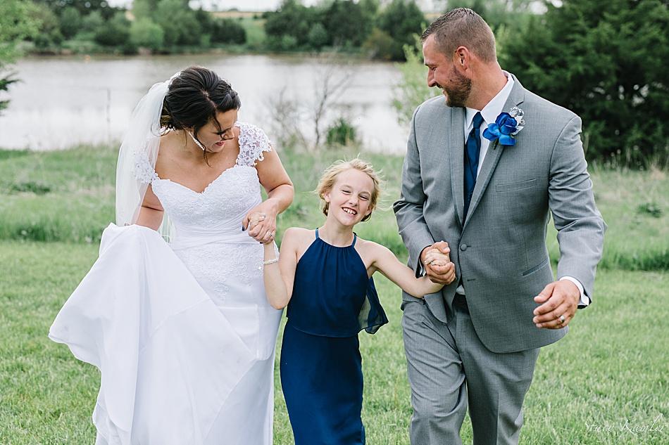 Family Photos during the wedding