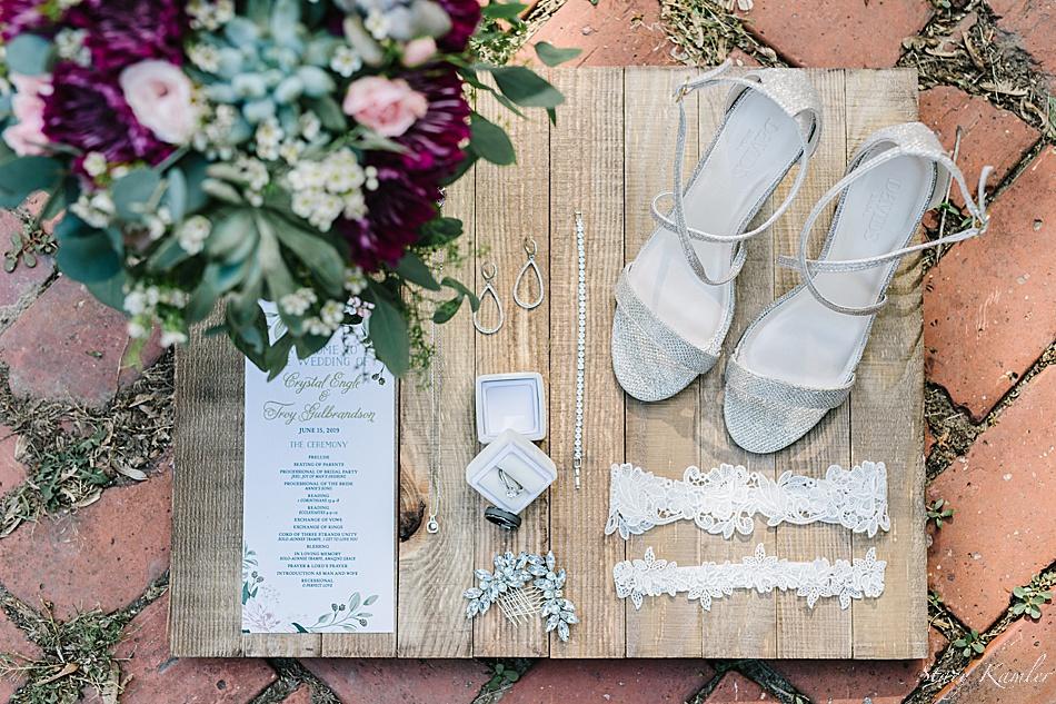 Wedding day details Shabby Chic