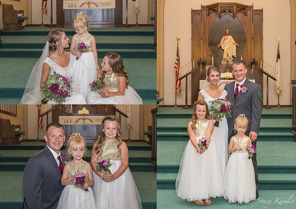 Family photos in the Church