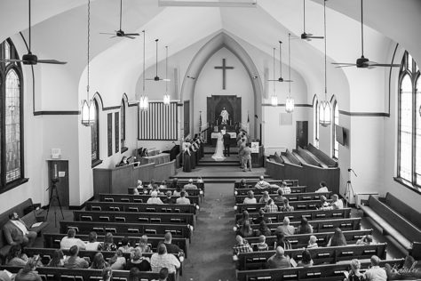 Ceremony photos in Emmanuel Evangelical Lutheran, York NE