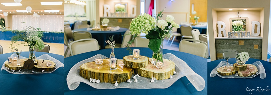 Table Centerpieces for reception