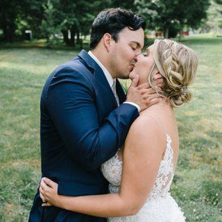 Kissing as Newlyweds
