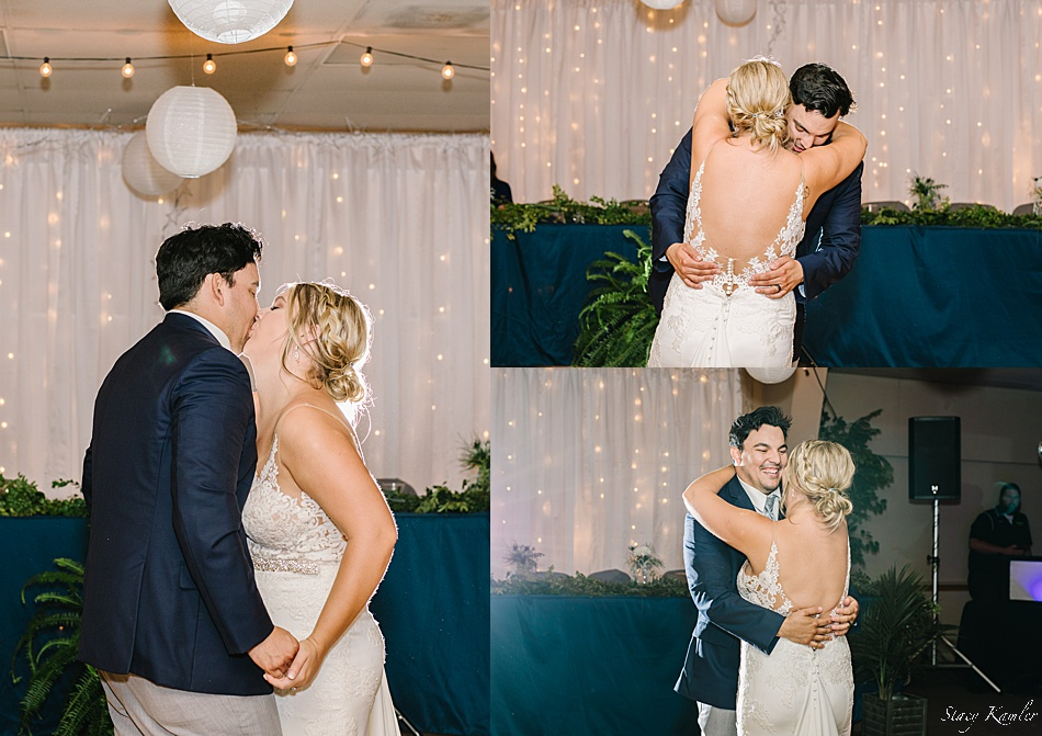 Bride and Groom first dance at Tower Hall