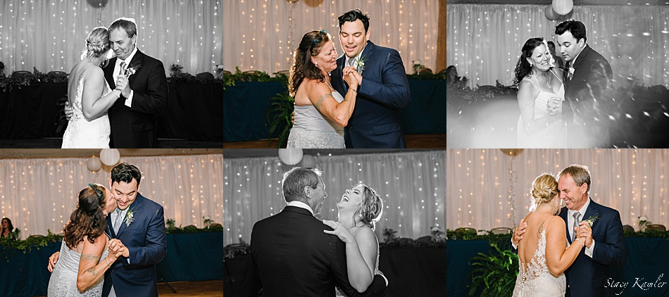 First dances with their parents