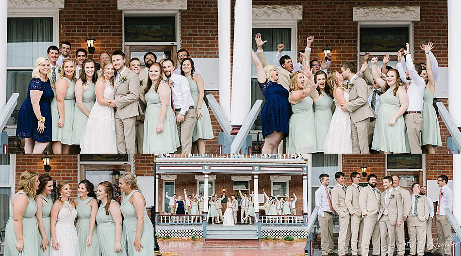 Bridal Party at the Wilbur Hotel