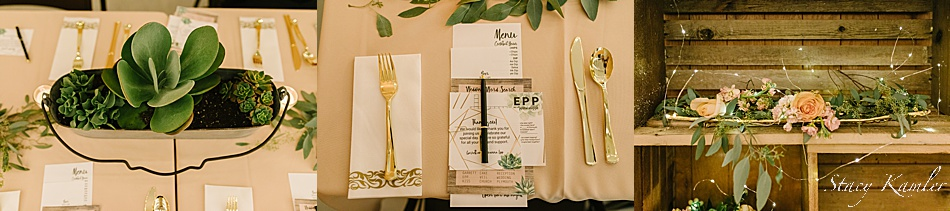 rustic chic table decorations