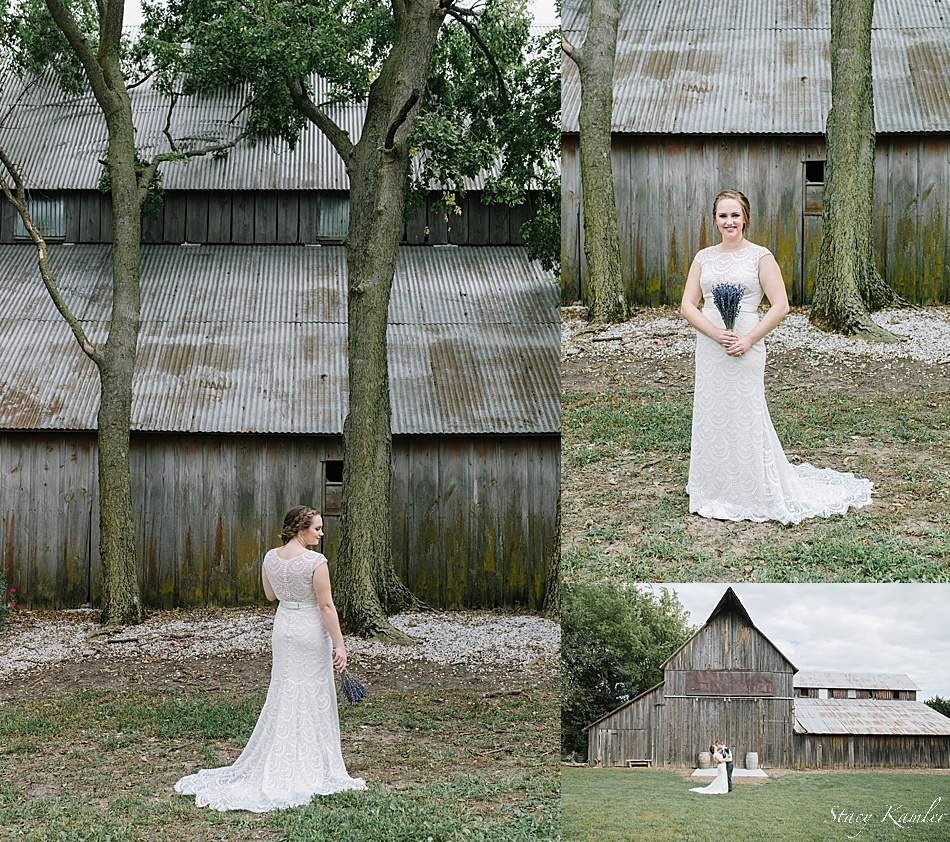 Bride Portraits at the Barn