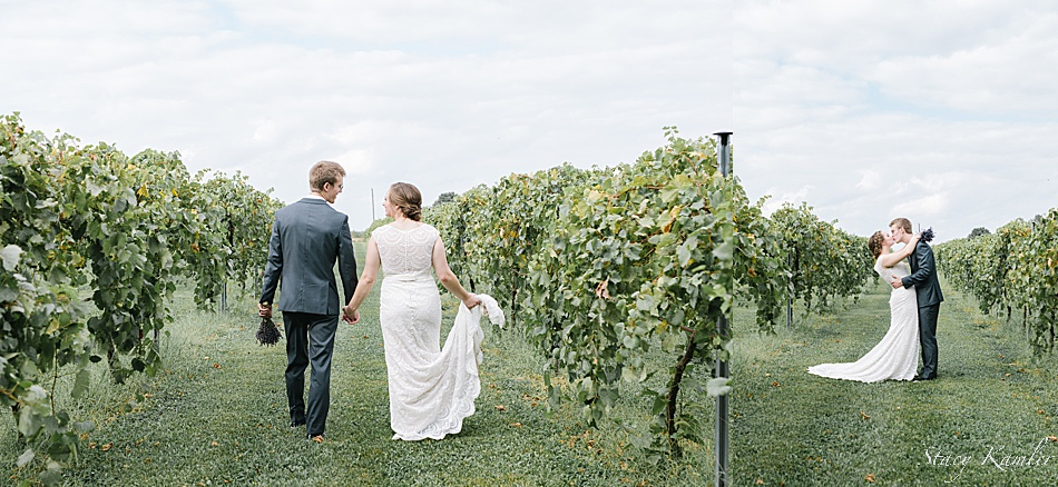 Nebraska Vineyard Wedding