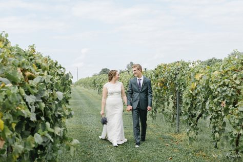 Wedding at Capitol View Winery