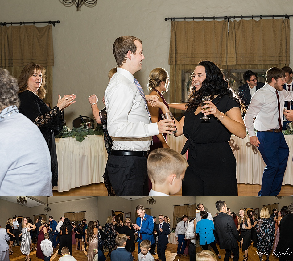 Wedding Party Dance at Hillcrest Country Club