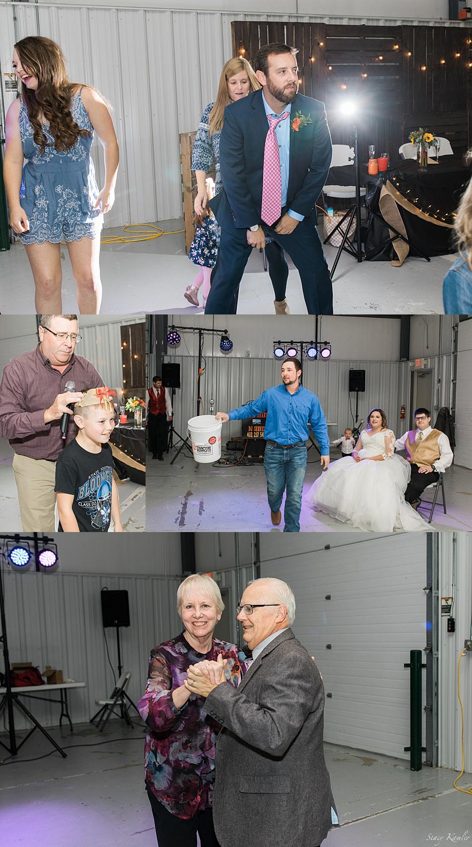 Dancing at Fall wedding