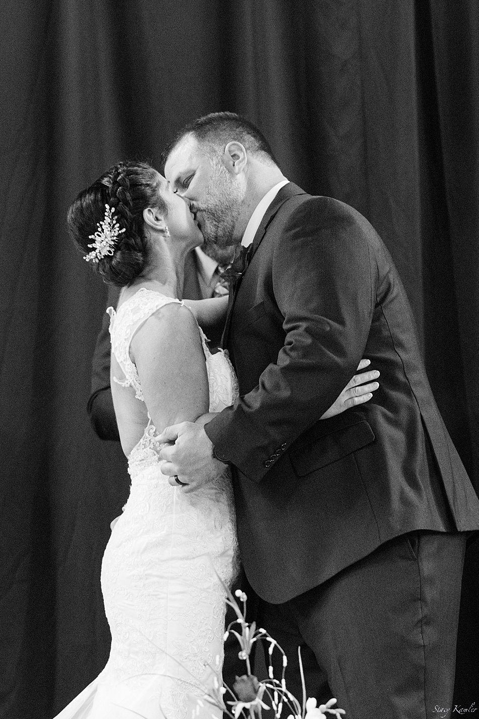 First Kiss as Husband and Wife