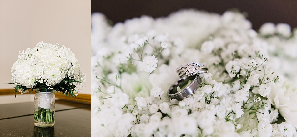 Bride's Flowers made with Baby's Breath